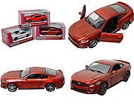 Инерционная модель автомобиля Ford Mustang GT (2015), KT5386W