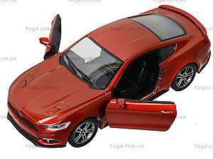 Инерционная модель автомобиля Ford Mustang GT (2015), KT5386W, игрушки