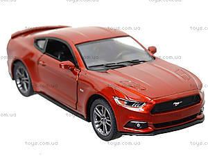 Инерционная модель автомобиля Ford Mustang GT (2015), KT5386W, детские игрушки