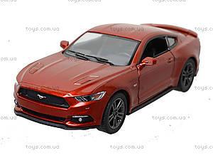 Инерционная модель автомобиля Ford Mustang GT (2015), KT5386W, toys.com.ua