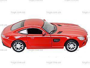 Коллекционная машинка Mercedes-AMG GT, KT5388W, купить