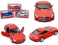 Коллекционная машинка Mercedes-AMG GT, KT5388W, отзывы