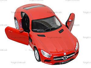 Коллекционная машинка Mercedes-AMG GT, KT5388W, игрушки