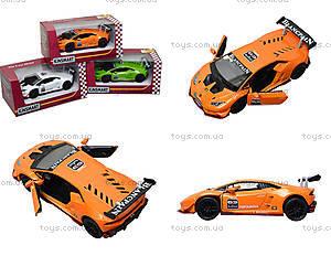 Металлическая модель Lamborghini Huracan-LP620-2 Super Trofeo, KT5389W