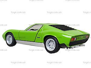Модель автомобиля Lamborghini Miura P400 SV, KT5390W, купить