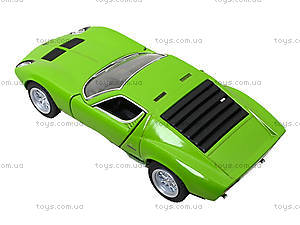 Модель автомобиля Lamborghini Miura P400 SV, KT5390W, фото