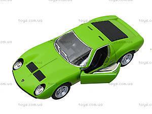 Модель автомобиля Lamborghini Miura P400 SV, KT5390W, цена