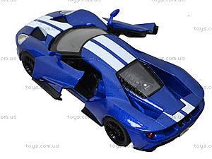 Коллекционная модель машины Ford GT (2017), KT5391FW, игрушки