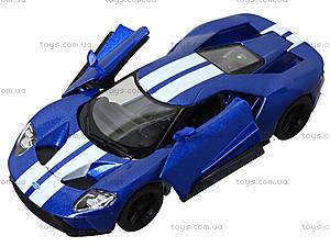 Коллекционная модель машины Ford GT (2017), KT5391FW, детские игрушки