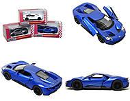 Металлическая модель автомобиля Ford GT (2017), KT5391W