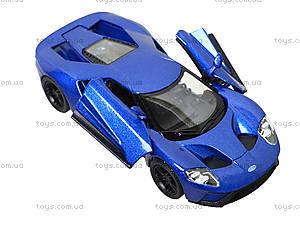 Металлическая модель автомобиля Ford GT (2017), KT5391W, игрушки