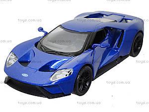 Металлическая модель автомобиля Ford GT (2017), KT5391W, детские игрушки