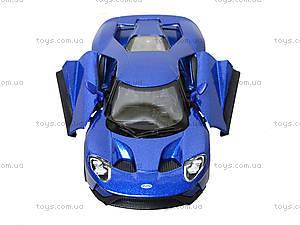 Металлическая модель автомобиля Ford GT (2017), KT5391W, магазин игрушек