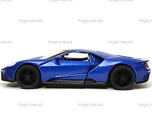 Металлическая модель автомобиля Ford GT (2017), KT5391W, toys.com.ua