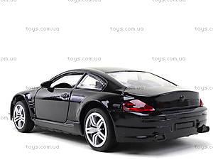 Металлическая модель машины с подсветкой, 6617, toys.com.ua