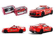Модель легковая Camaro ZL1 «PoliceFireFighter», KT5399WPR, отзывы