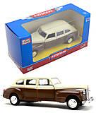 Модель ретро-автомобиля «Автопарк», 6406D, фото