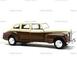 Модель ретро-автомобиля «Автопарк», 6406D, игрушки
