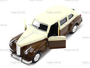 Модель ретро-автомобиля «Автопарк», 6406D, детские игрушки
