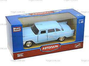 Металлическая ретро модель «Автопарк», 6410A, фото