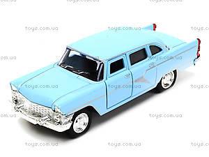 Металлическая ретро модель «Автопарк», 6410A, игрушки