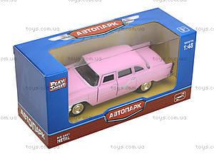Металлическая модель автомобиля «Ретро», 6410B, игрушки