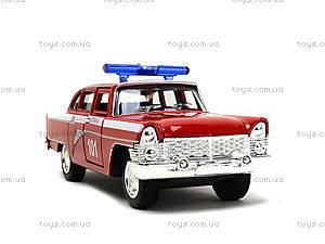Металлическая пожарная машина «Ретро», 6410C, купить
