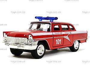 Металлическая пожарная машина «Ретро», 6410C, фото