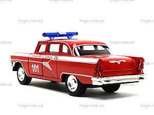 Металлическая пожарная машина «Ретро», 6410C, игрушки