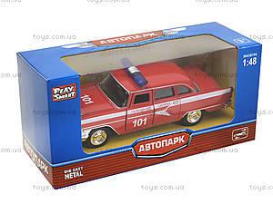 Металлическая пожарная машина «Ретро», 6410C