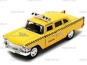 Игрушечная модель автомобиля «Ретро такси», 6410F, купить