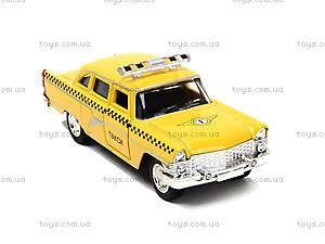 Игрушечная модель автомобиля «Ретро такси», 6410F, фото
