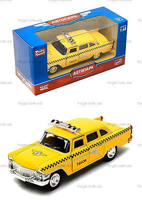Игрушечная модель автомобиля «Ретро такси», 6410F