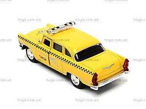 Игрушечная модель автомобиля «Ретро такси», 6410F, цена