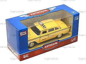 Игрушечная модель автомобиля «Ретро такси», 6410F, игрушки