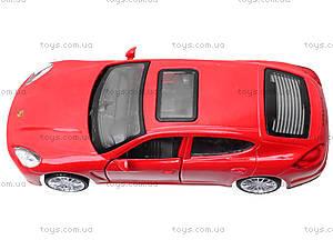 Модель автомобиля Porsche Panamera, 6428, магазин игрушек