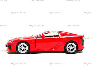 Игрушечная машина Lexus LFA серии «Автодром», 6433, игрушки