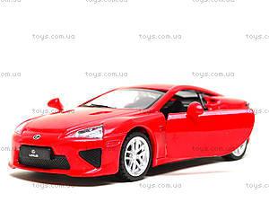 Игрушечная машина Lexus LFA серии «Автодром», 6433, детские игрушки