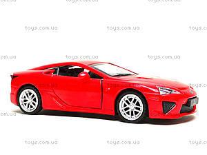 Игрушечная машина Lexus LFA серии «Автодром», 6433, магазин игрушек
