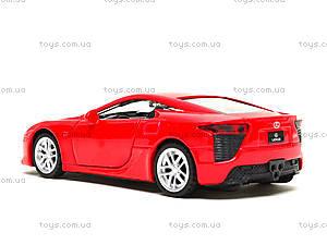 Игрушечная машина Lexus LFA серии «Автодром», 6433, toys.com.ua