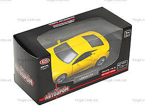 Игрушечная машина Lexus LFA серии «Автодром», 6433, toys