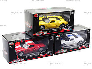 Модель машины серии «Автодром» Ford GT, 6434, отзывы