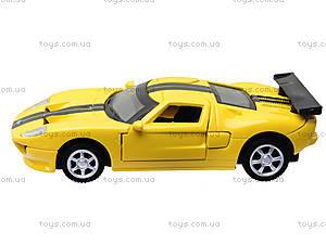 Модель машины серии «Автодром» Ford GT, 6434, игрушки