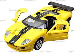 Модель машины серии «Автодром» Ford GT, 6434, детские игрушки
