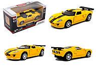 Модель машины серии «Автодром» Ford GT, 6434, купить