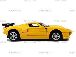Модель машины серии «Автодром» Ford GT, 6434, toys.com.ua