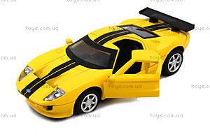 Модель машины серии «Автодром» Ford GT, 6434, toys