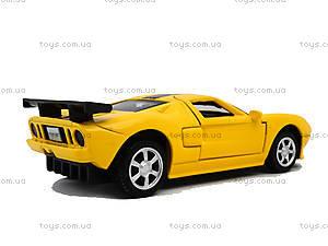 Модель машины серии «Автодром» Ford GT, 6434, іграшки