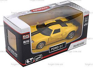 Модель машины серии «Автодром» Ford GT, 6434, доставка