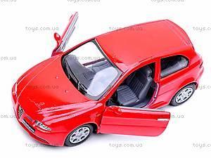Модель машины Alfa, KT5085W, игрушки